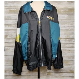Vintage Fila Jacket 90s Windbreaker